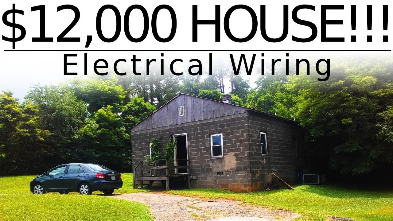Great $12,000 CASH House!!!   Electrical Renovation   #19