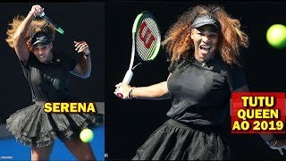 Serena Williams plays Tatjana Maria AO 2019 R1