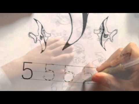 ฝึกเขียนเลข 1-10