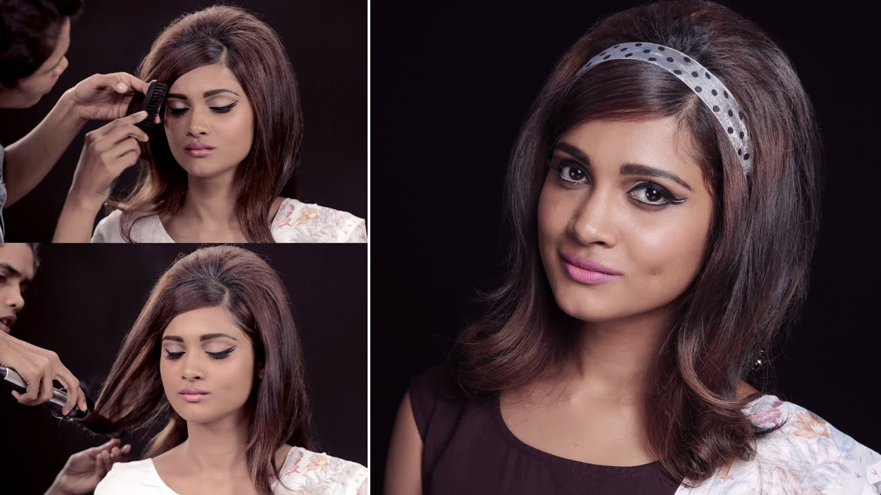 how to get the '60s hairstyle look | quick and easy.