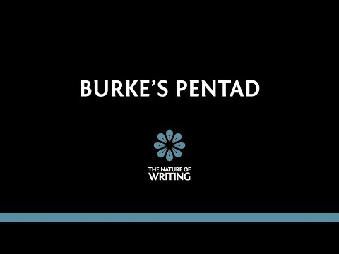 Burke's Pentad | Rhetoric | The Nature of Writing