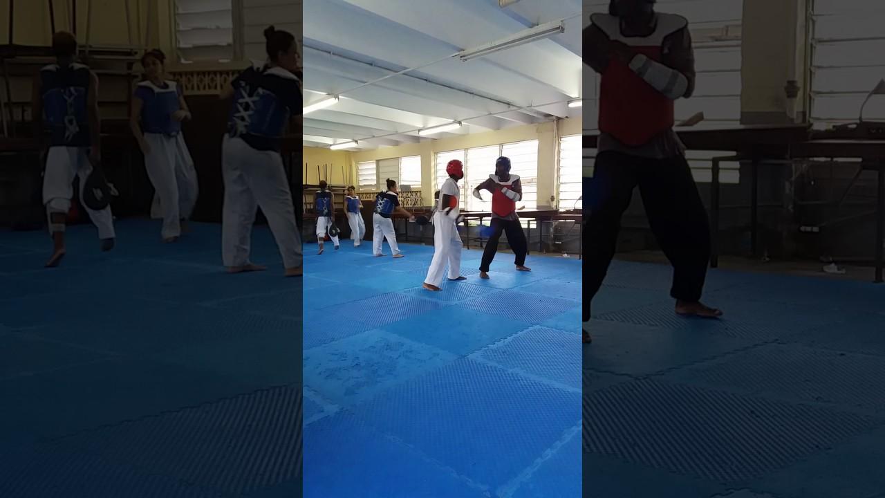 Taekwondo blocking reaction drills