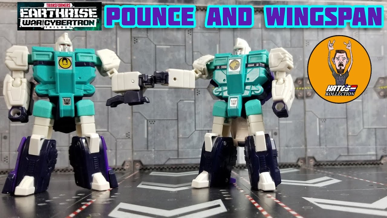 WFC: Earthrise Pounce and Wingspan Review By Kato's Kollection