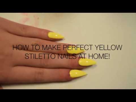 How To Make Yellow Nail Polish At Home