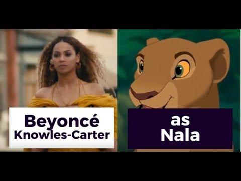 Disneys 2019 THE LION KING Cast