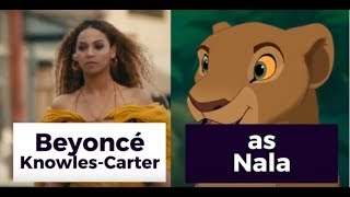 Disney's 2019 THE LION KING Cast