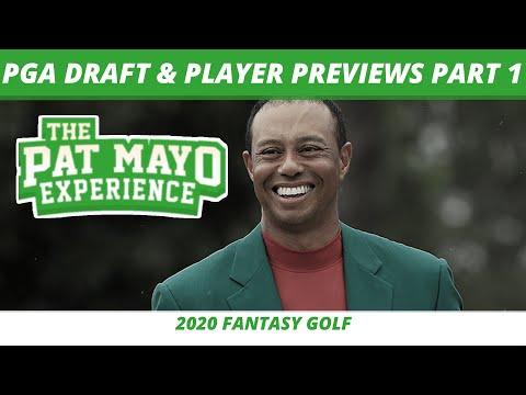 2020 PGA Tour Player Previews And Draft - PGA Picks And Fantasy Golf Predictions Part 1
