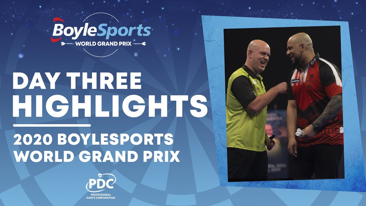 Day Three Highlights | 2020 BoyleSports World Grand Prix - YouTube