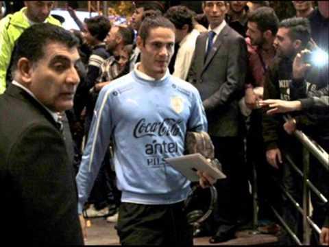 Uruguay team in Amman - Photos