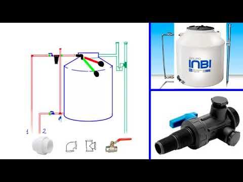 Como instalar un tanque de agua o tinaco explicado paso a for Como poner un vivero