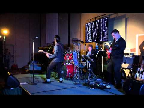 Dean Z as Buddy Holly encore - video by Susan Quinn Sand