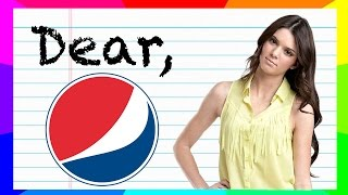 Dear Pepsi - The Youtube Boycott And Kendall Jenner Ad Controversy