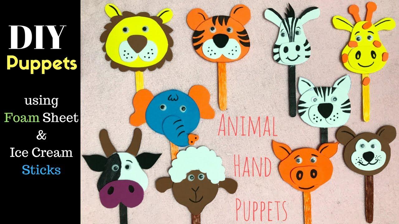 Animal Popsicle Stick Crafts Printables