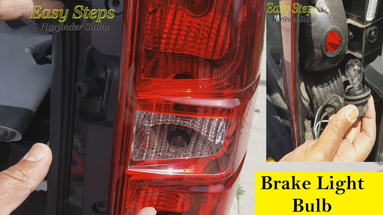 How To Replace Rear Signal Light Tail Brake Bulb Flasher On Chevrolet Suburban