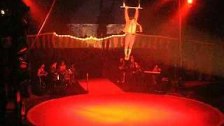 Trapézio em Balanço no Circo ZANNI com André Sabatino