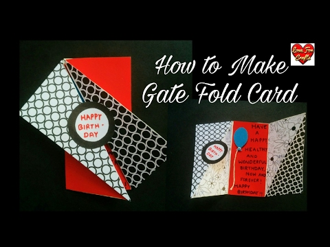 Birthday Card for Best Friend | DIY - Gate Fold Card