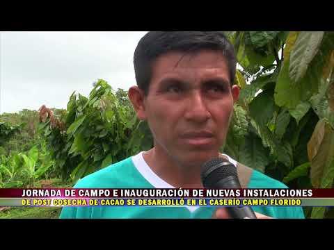 JORNADA DE TRABAJO E INAUGURACIÓN DE NUEVAS INSTALACIONES DE POST COSECHA EN CAMPO FORIDO
