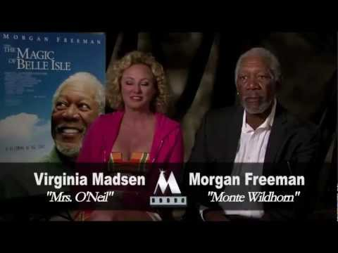 THE MAGIC OF BELLE ISLE - Morgan Freeman & Virginia Madsen interview