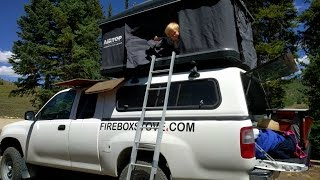 Overland Vehicle Camping / Firebox Stove Fish Tacos / Fishing For Trout / Camp Coffee.