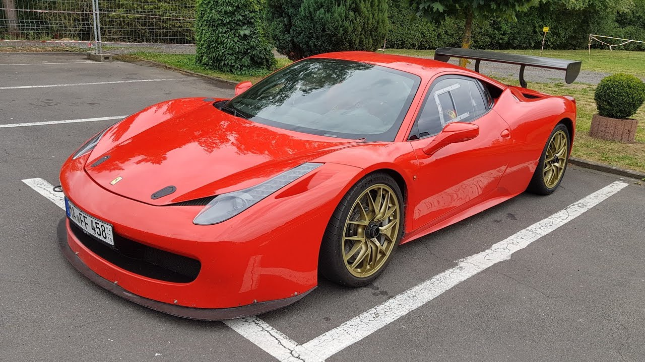 The Only Road Legal Ferrari 458 Challenge In The World Youtube