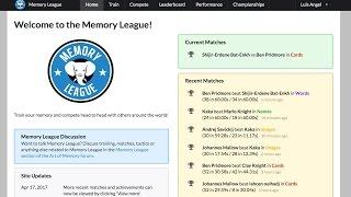 Memory League Ben vs Shijir