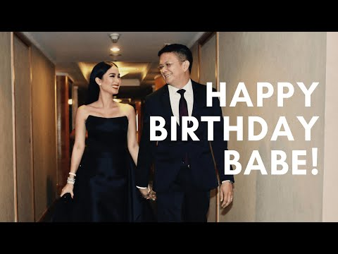 SURPRISE, HAPPY BIRTHDAY BABE! | Heart Evangelista