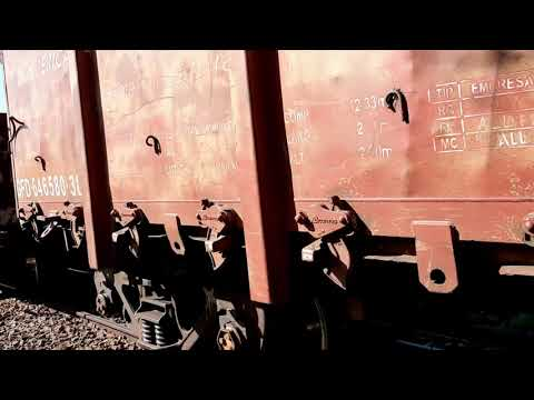 Trem Carregado com Vergalhoes de Aço 27.1.2020 Cafelândia sp