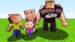 vlad and nikita play minecraft pretend for kids toys video playing family fun children paw patrol