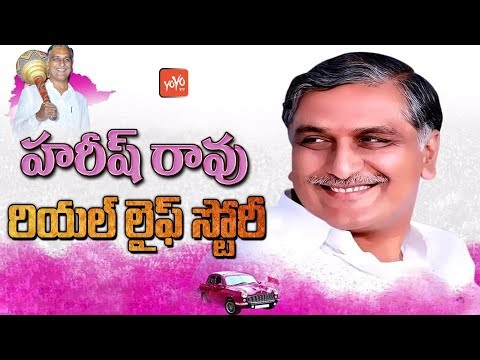 Harish Rao Real Life Story(Biography) | Childhood | Education | Political Carrer | Family | YOYO TV