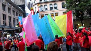Some Acts for Chinese New Year Parade , Sydney, 2012