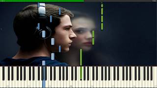 13 Reasons Why Soundtrack [The Night We Met Arr.] // Lord Huron // Piano Tutorial Synthesia