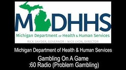 """Gambling On A Game"" :60 Radio (Problem Gambling)"