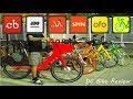 DC Bike Review - Bikeshare, Limebike, Mobike, Ofo, SPIN, Jump