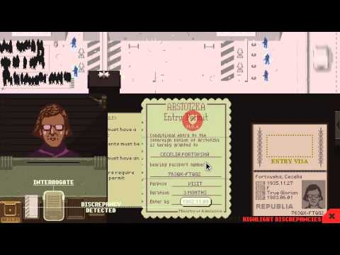Let's Drown Out... Papers, Please
