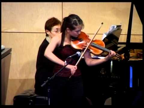 TEDxRedmond - Simone Porter - Malaguena and Zapateado by Sarasate; Definition of the Prodigy