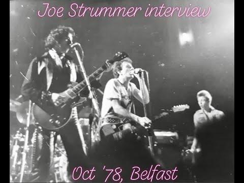 Joe Strummer Interview October 1978, for Mater Hospital Radio, Belfast