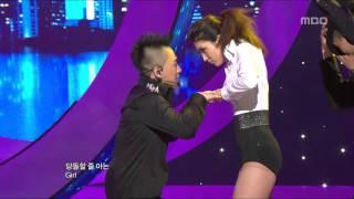 Tae Yang - I need a girl, 태양 - 아이 니드 어 걸, Music Core 20100710
