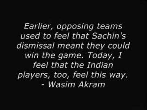Best Quotes on Sachin Tendulkar