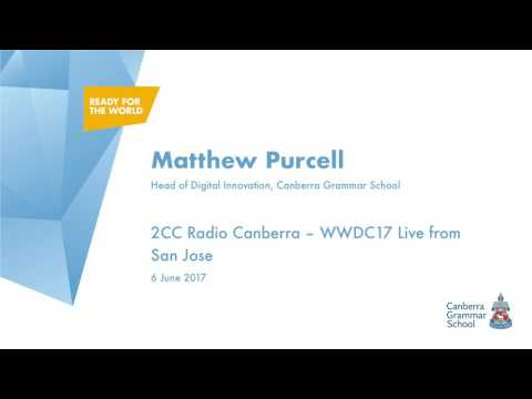 2CC Radio Canberra - WWDC17 Live from San Jose