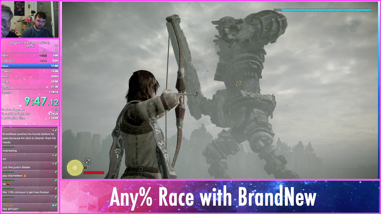 Meme any% run (1:03:51 IGT) with BrandNew