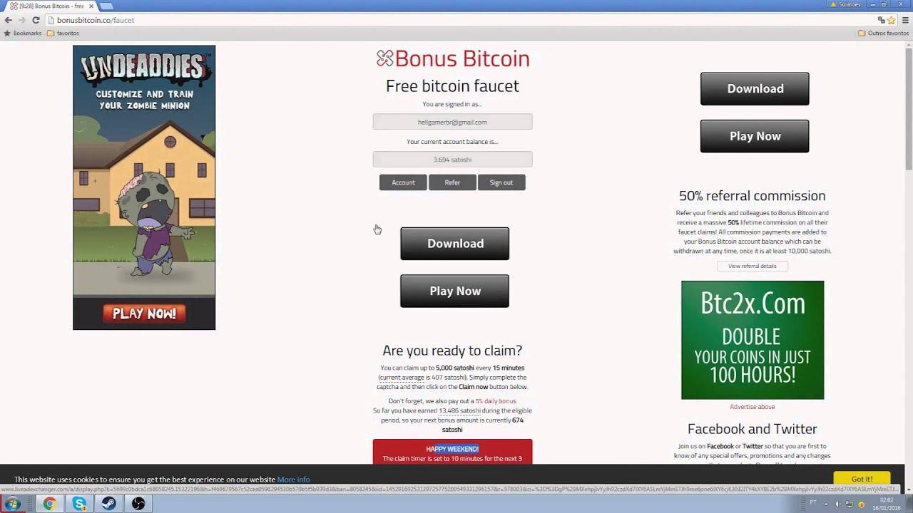Ganhar bitcoins vendo videos for cats minimizer pari mutuel betting calculator