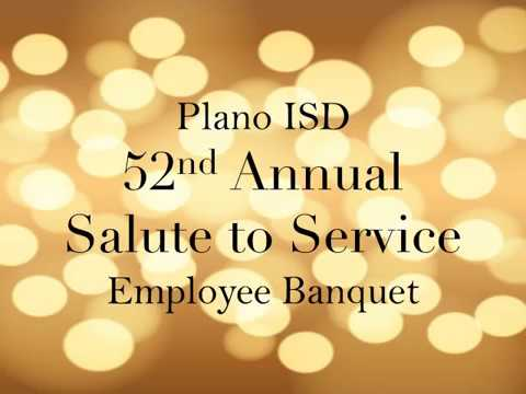 2017 Plano ISD Service Awards Banquet