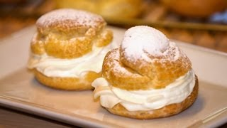 Cream Puff Pastry or Pate a Choux in English