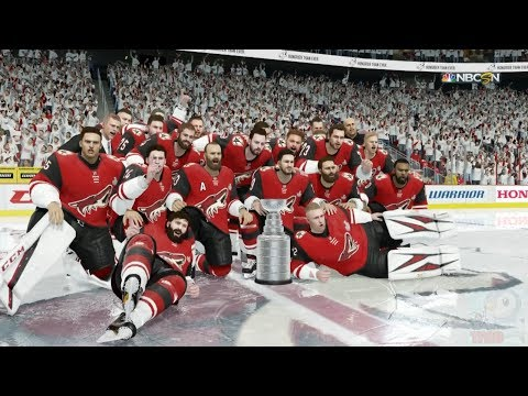 NHL 18 - Arizona Coyotes Stanley Cup Celebration