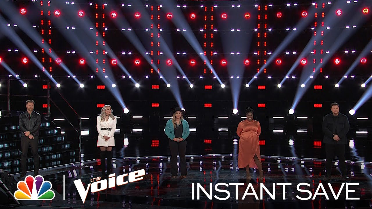 'The Voice' Top 9 Revealed -- Who Won the Instant Save?