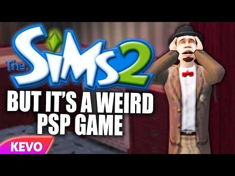 Sims 2 But It's A Weird PSP Game