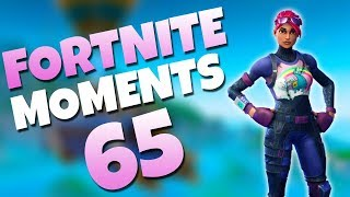 ONE IN A MILLION TRICKSHOT!! (INSANE) | Fortnite Daily Funny and WTF Moments Ep. 65