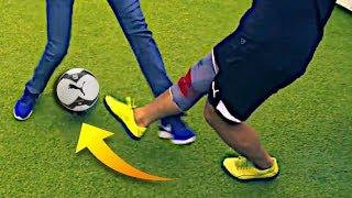 FIFA STREET SKILLS IN REAL LIFE!? 😱Insane Football Tricks 2018! ★