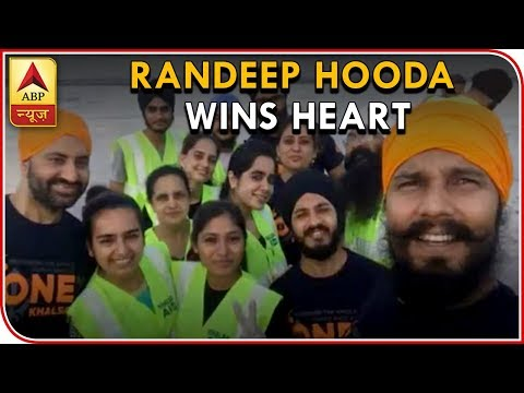 Randeep Hooda Joins Khalsa Aid To Serve Kerala Flood Victims, Wins Hearts | ABP News