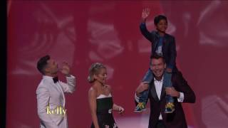 """""""Lion's"""" Sunny Pawar and Jerry O'Connell Become Friends at the Oscars"""